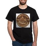New Orleans 250th Medallion Black T-Shirt