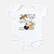 Funny Restaurant Infant Bodysuit