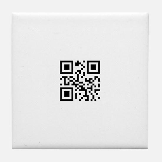 I <3 Geeks Tile Coaster