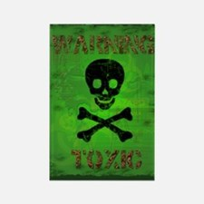Funny Toxic Waste Rectangle Magnet