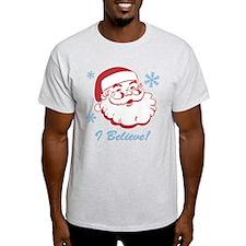 Retro Santa Believe T-Shirt