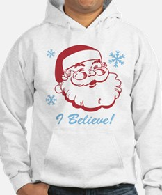 Retro Santa Believe Jumper Hoody