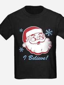 Retro Santa Believe T
