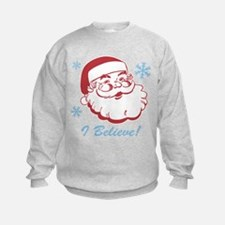 Retro Santa Believe Sweatshirt