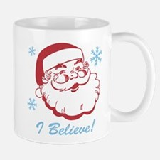 Retro Santa Believe Mug