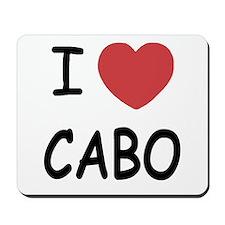 I heart Cabo Mousepad