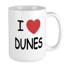 I heart dunes Mug