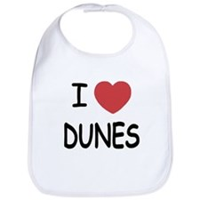 I heart dunes Bib