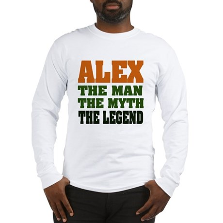 ALEX - The Legend Long Sleeve T-Shirt