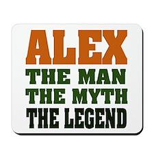 ALEX - The Legend Mousepad