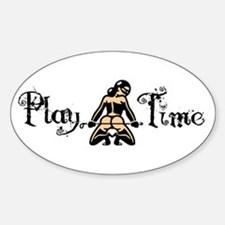 Play Time Oval Decal