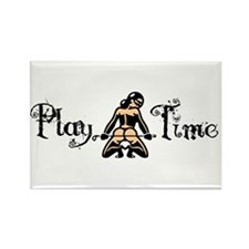 Play Time Rectangle Magnet