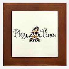 Play Time Framed Tile