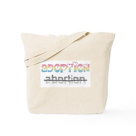 Adoption / abortion Tote Bag