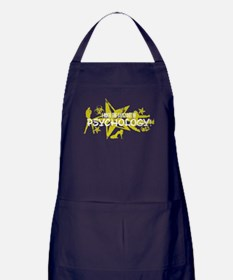 I ROCK THE S#%! - PSYCHOLOGY Apron (dark)