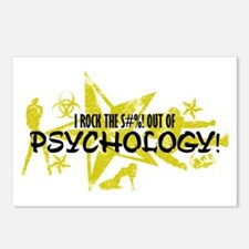 I ROCK THE S#%! - PSYCHOLOGY Postcards (Package of