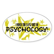 I ROCK THE S#%! - PSYCHOLOGY Decal