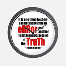 Truth and Error Wall Clock