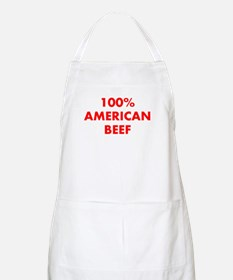 100% American Beef Apron