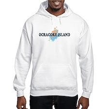 Ocracoke Island - Seashells Design Hoodie