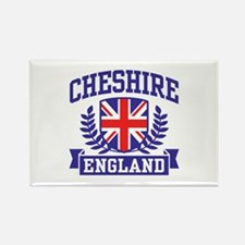 Cheshire England Rectangle Magnet
