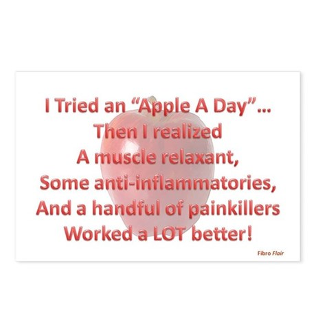 Apple A Day Postcards (Package of 8)