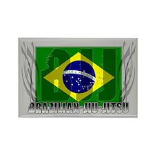 BJJ Brazilian Jiu Jitsu Triba Rectangle Magnet (10