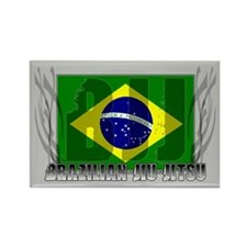 BJJ Brazilian Jiu Jitsu Triba Rectangle Magnet