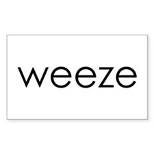 WEEZE Rectangle Decal
