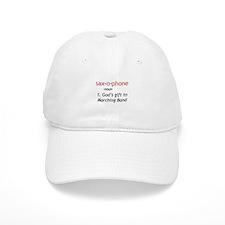 Definition of Saxophone Baseball Cap