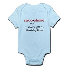 Definition of Saxophone Onesie