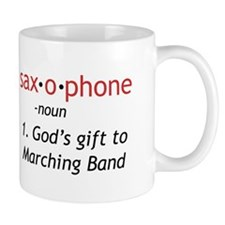 Definition of Saxophone Small Mug