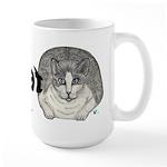 Fat Cat Large Mug