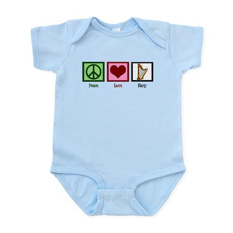 Peace Love Harp Infant Bodysuit