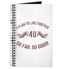 40 So Far So Good Journal