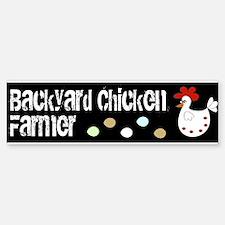Backyard Chicken Farmer Eggs Bumper Bumper Bumper Sticker