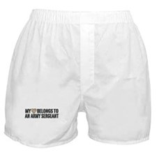 Army Sergeant Boxer Shorts