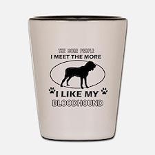 Bloodhound Designs Shot Glass