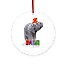 eleclaus Ornament (Round)