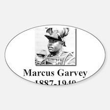Marcus Garvey Oval Decal
