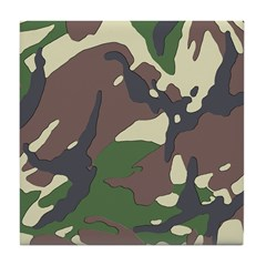Camouflage Tile Coaster