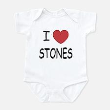 I heart Stones Infant Bodysuit