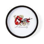 O'Kinneally Coat of Arms Wall Clock
