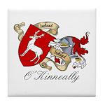 O'Kinneally Coat of Arms Tile Coaster