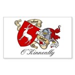 O'Kinneally Coat of Arms Rectangle Sticker