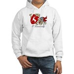 O'Kinneally Coat of Arms Hooded Sweatshirt