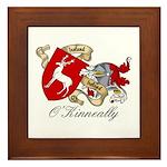 O'Kinneally Coat of Arms Framed Tile