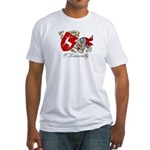 O'Kinneally Coat of Arms Fitted T-Shirt