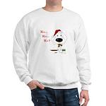 Poodle Santa's Cookies Sweatshirt