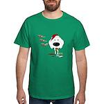 Poodle Santa's Cookies Dark T-Shirt